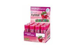 Xylitol tyggegummi til børn jordbær 12x30 stk*