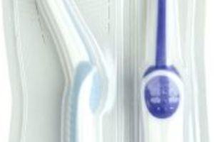Active V Shape voksen tandbørste medium 12x1 stk