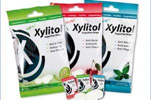 Xylitol drops 6 gram Cherry*