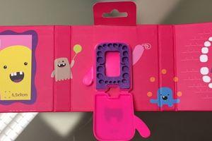 Dental Album Minibog til mælketænder pink