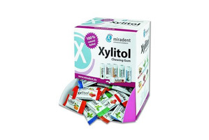 Xylitol ass. tyggegummi i dispenser 200 x 2 stk