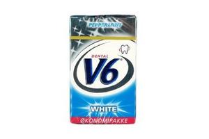 V6 White Peppermint økonomipakke 12x50 stk