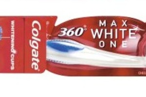 Tandbørste 360 Max White One medium 12 stk